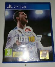 FIFA 18 Sony PlayStation 4 PS4 Game NEW and SEALED UK PAL Football Game 2018