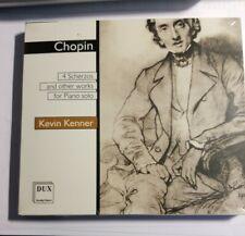 NEW SEALED CD. Frederic Chopin : 4 Scherzos (Kevin Kenner, piano) 73:48 minutes