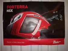 Zetor Forterra HSX +Proxima Power posters x 2 same size 70x100 cm original goodQ
