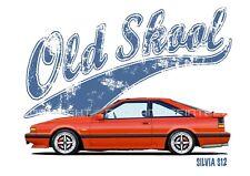 NISSAN SILVIA S12 t-shirt. OLD SKOOL. CLASSIC CAR. MODIFIED. RETRO. JDM.