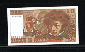 Billet 10 Francs Berlioz 05/08/76 NEUF Fay 63-20
