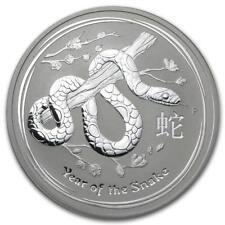Perth Mint Australia $1 Lunar Series II Snake 2013 1 oz .999 Silver Coin
