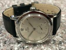 VINTAGE 1947 EARLY  OMEGA SEA-MASTER BUMPER  ref 2491  WATCH.