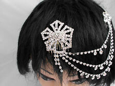 Glass Alloy Costume Hair & Head Jewellery