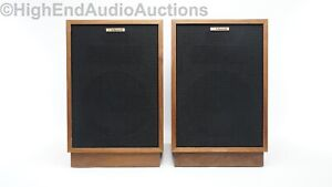Klipsch Heresy Speakers - HWO - Oiled Walnut - Vintage Classics