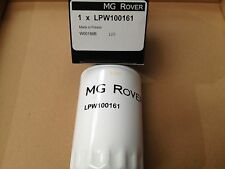 GENUINE MG ROVER 45 - 75 ZS ZT V6 OIL FILTER   X12   LPW100161 MGZT MGZS FILTERS