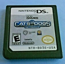 Nintendo DS Cats Dogs The Revenge Kitty Galore Console Video Game Card Cartridge