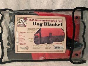 "J T International 600 D Waterproof Dog (or Goat, Pig) Blanket Size M Up to 25"" L"