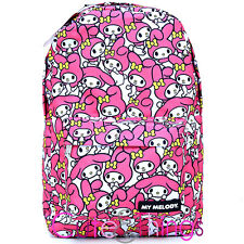 Sanrio My Melody School Backpack All Over Printed Laptop Bag by Lougefly