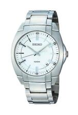 Seiko Reloj De Hombre sgeb49p1 Análogo Acero Inoxidable Plata