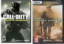 call of duty modern warfare 2 & call of duty infinite warfare    new&sealed