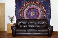 Indian Ombre Mandala Tapestry Wall Hanging Bedspread Throw Dorm Decor Barmeri