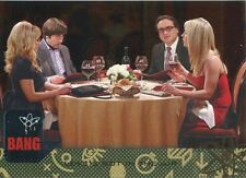 Big Bang Theory Seasons 6 & 7 Silver Parallel Base Card #27 Love?s Not in the
