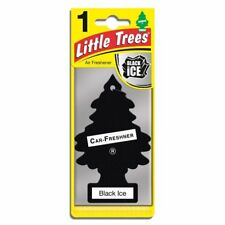 10 x BLACK ICE LITTLE TREES AIR FRESHENERS Car Truck Fragrance Freshener Scent