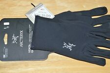arc'teryx venta glove touch screen smart windproof weather resistant black Large