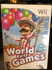 World Party Games (Nintendo Wii, 2009) Complete