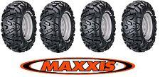 2x 25x8-12 + 25x10-12 Bighorn 25x8.00-12 ATV QUAD TERRENO Set di pneumatici Maxxis