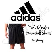 Solid Regular Size M Athletic Shorts for Men