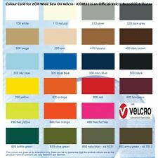 Alfatex® Brand from Velcro Companies 2CM Coloured Sew On Stitch On Tape