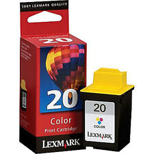 LEXMARK  20 15M0120  COLOR  PRINTER  CARTRIDGE  NEW IN BOX