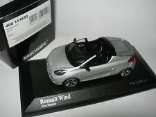 Minichamps 1:43 400 113930 RENAULT WIND 2010 Silver NEW