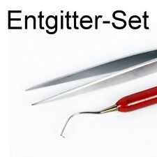 Entgitter Set Car Wrapping Entgitternadel Pinzette Flexfolie Flockfolie