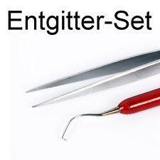 Entgitter Set Car Wrapping Entgitternadel Pinzette Flexfolie Flockfolie
