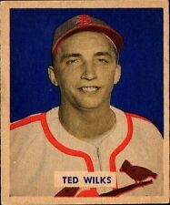 1949 Bowman Ted Wilks #137 Baseball Card