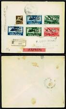 VENEZIA GIULIA - PA - 1945/47 - Franc. del 1930-47 sovrastampati su due righe