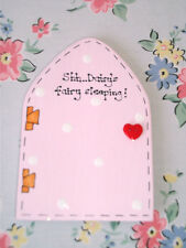 Personalised Childs Name MAGIC FAIRY DOOR Girls Bedroom ~ Shh Fairy Sleeping!