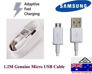 Samsung 1.2 M Micro USB Adaptive Fast charge data cable for Galaxy S6,S6 edge,S7