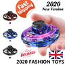 Flynova Flying Spinner fidget Stress Release Mini Drone UFO Adult Kids Toys UK