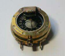 Antique Brass Nautical Maritime Ships Compass Patt. 261 No.1028B/65