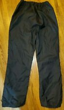 Obermeyer Cannon Ski Snowboard Pants Lined Black Nylon Size XL