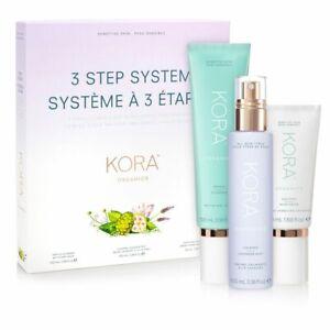 Kora Organics by Miranda Kerr 3 Step System Sensitive Skin Treatment *Free Post