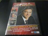 """RARE! DVD NEUF """"LE MEILLEUR DE GUY BEDOS"""" 30 sketchs culte à la télévision"""