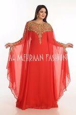 FARASHA FANCY JILBAB ARABIAN DUBAI ABAYA WEDDING GOWN DRESS 503
