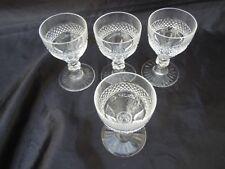 Série verres cristal taillé St Louis France modele Trianon verre a liqueur