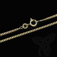 PANZERKETTE gelb GOLD KETTE 333er 8kt Gold Halskette Collier 0,8 mm Breit 3728
