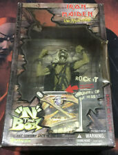 2001 IRON MAIDEN Live After Death N THE BOX Art Asylum Jack In Toy Figure RARE