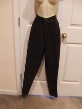 new in pkg styles to go newport news black denim 100%cotton jean size 12