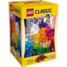 LEGO 10697 CLASSIC LARGE CREATIVE BOX NEW SEALED 1500 MIXED COLORS SIZES BRICKS
