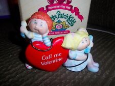 Cabbage Patch Kids Fine Porcelain Valentine's Day Phone Call Figure 1985