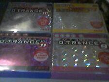 D Trance  Gary D  Vol.9,10,11,12     guter Zustand    ,,Sammlung