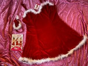 ANN SUMMERS SEXY SANTA  fancy dress OUTFIT  size 20 NWT
