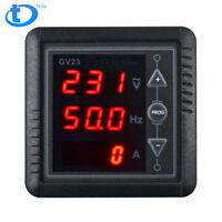 BC-GV23 Generator Digital Meter AC Voltage Frequency Current Meter Testing Panel