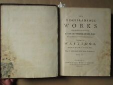 MIDDLETON : THE MISCELLANEOUS WORKS, 1752. 23 planches romains, égyptiens.