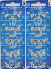 25 pc 379 Renata Watch Batteries SR521SW FREE SHIP 0% MERCURY