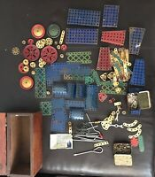 Vintage Wooden Boxed Meccano Collection