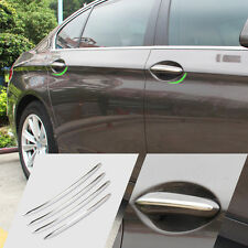 4pcs Chrome Door Handle Molding Trim Cover Outside For BMW 5 Series F10 F18